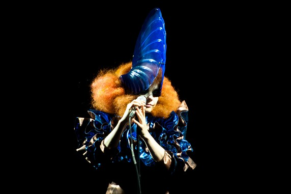 Bjork Performs At Bestival Festival - Isle Of Wight