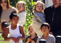 The Jolie-Pitt Family Enjoys The Big Easy