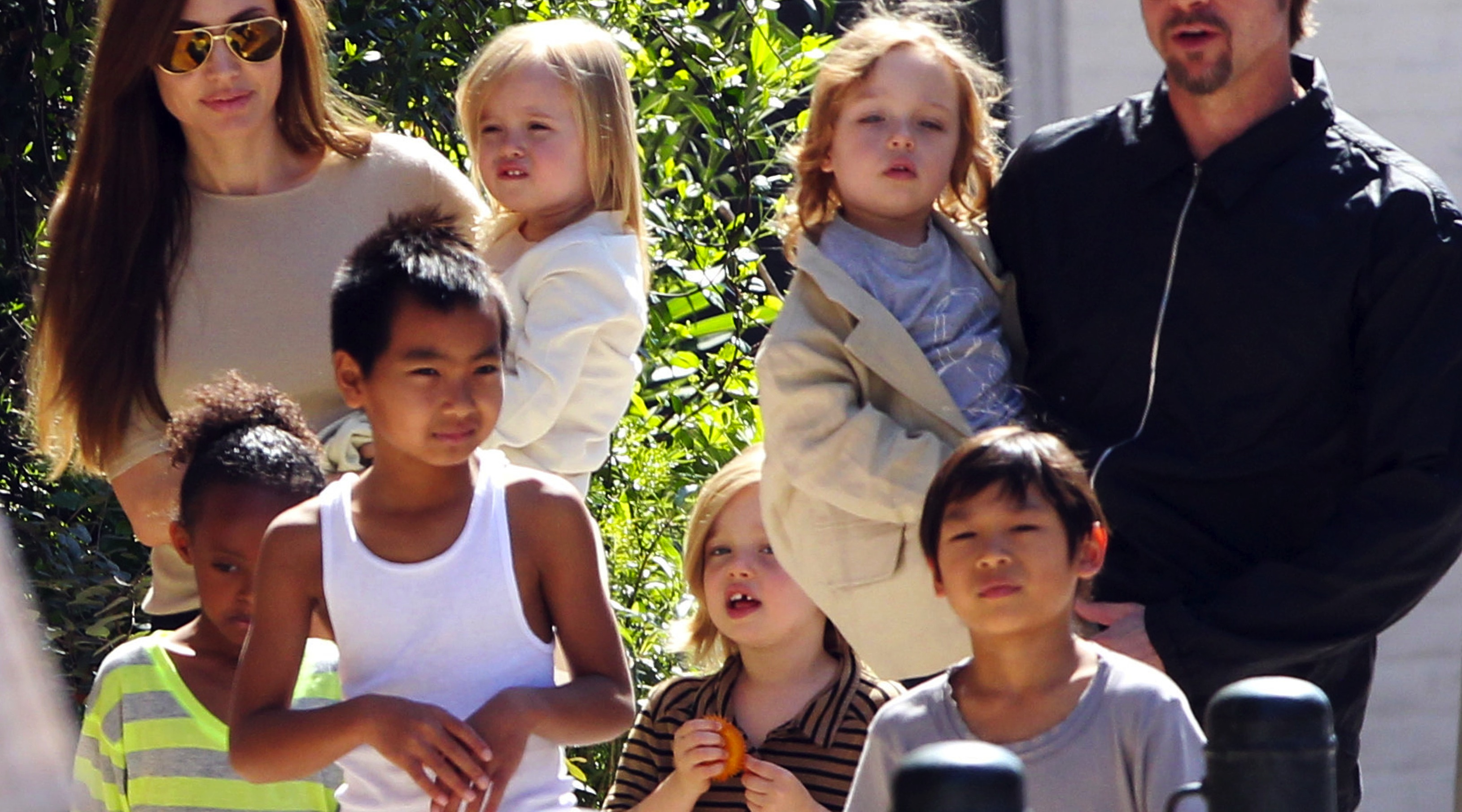 The Jolie-Pitt Family Enjoys The Big Easy