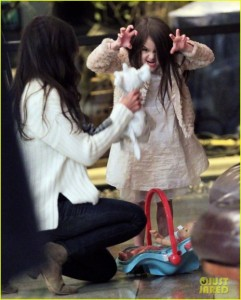 Katie Holmes and Suri Cruise head out in NYC