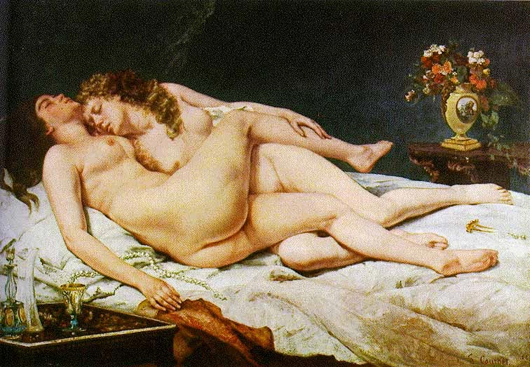 Courbet sommeil