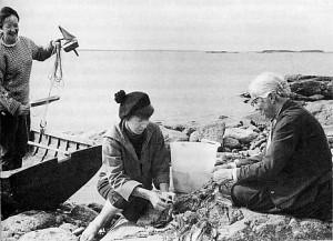 Tuulikki_Pietilä_Tove_Jansson_1956