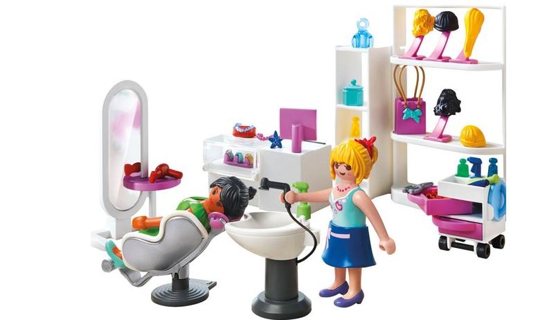Les 10 pires jouets offrir une petite fille for Playmobil salon de coiffure