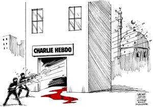Caricature - Carlos Latuff
