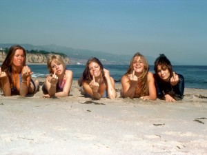 "Rock band ""The Runaways"""