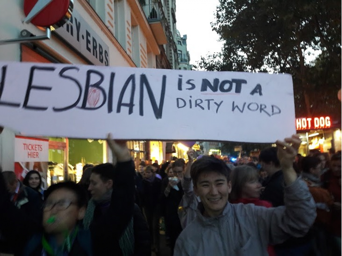 lesbian is not a dirty word