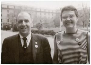 Frank Kameni & Barbara Gittings